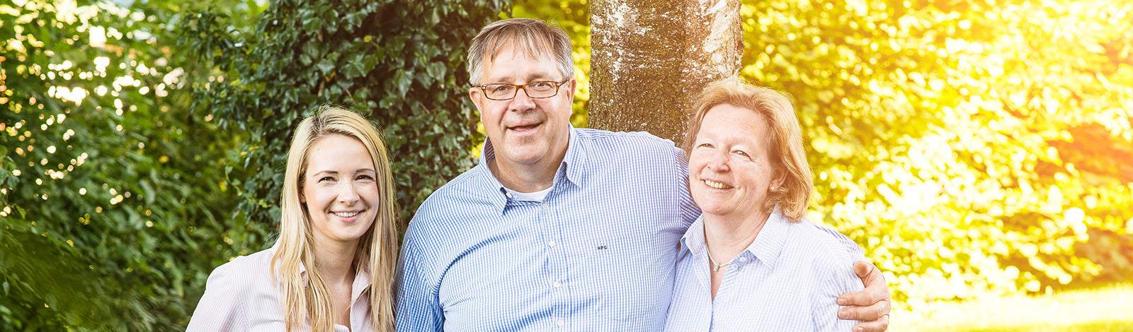 Familie Goldnick vom Hornbrooker Hof
